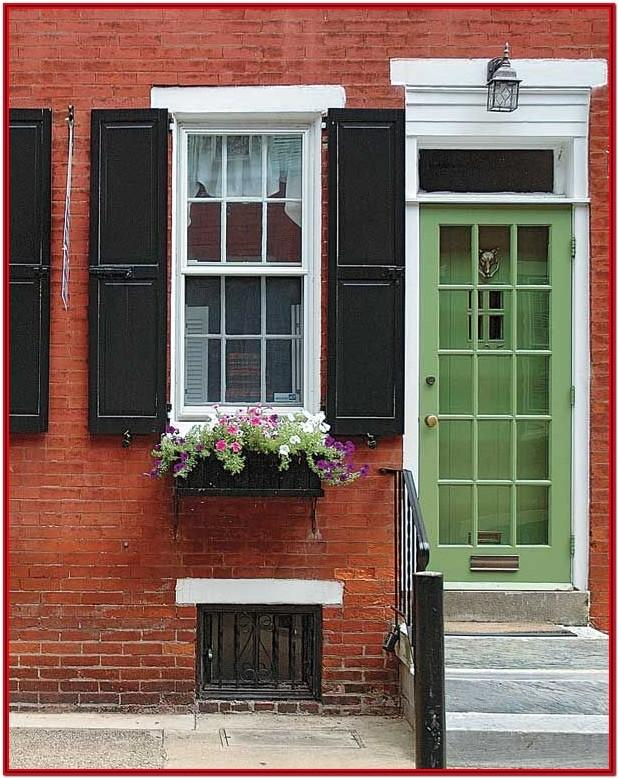 Exterior Paint Colors With Red Orange Brick