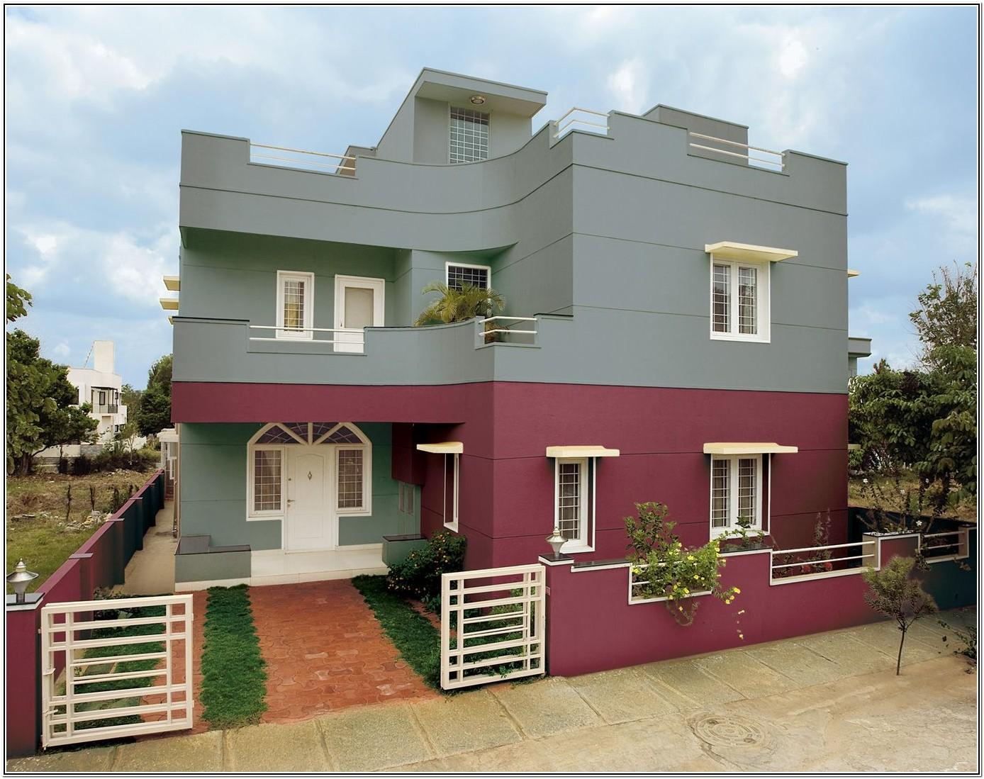 Exterior Paint Ideas For Houses In India