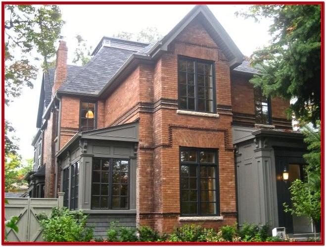 Exterior Trim Paint Colors For Red Brick Homes