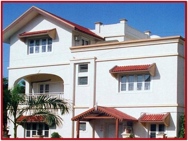 Exterior Wall Colours For Home In India