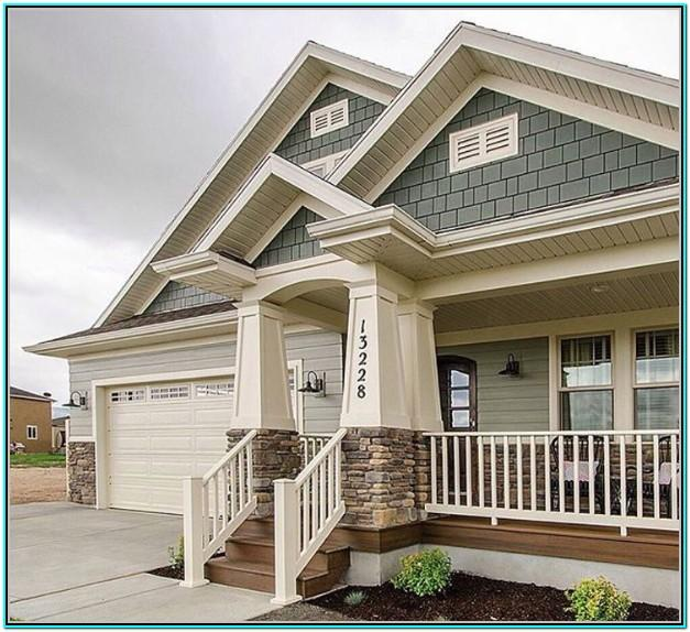 Gray Green Exterior Paint Colors