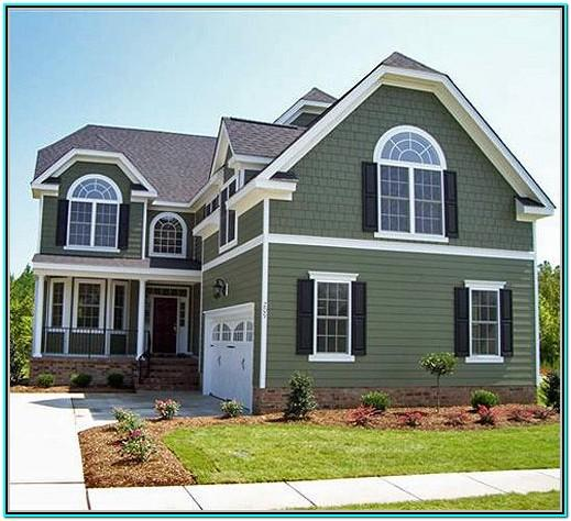 Green House Exterior Color Schemes