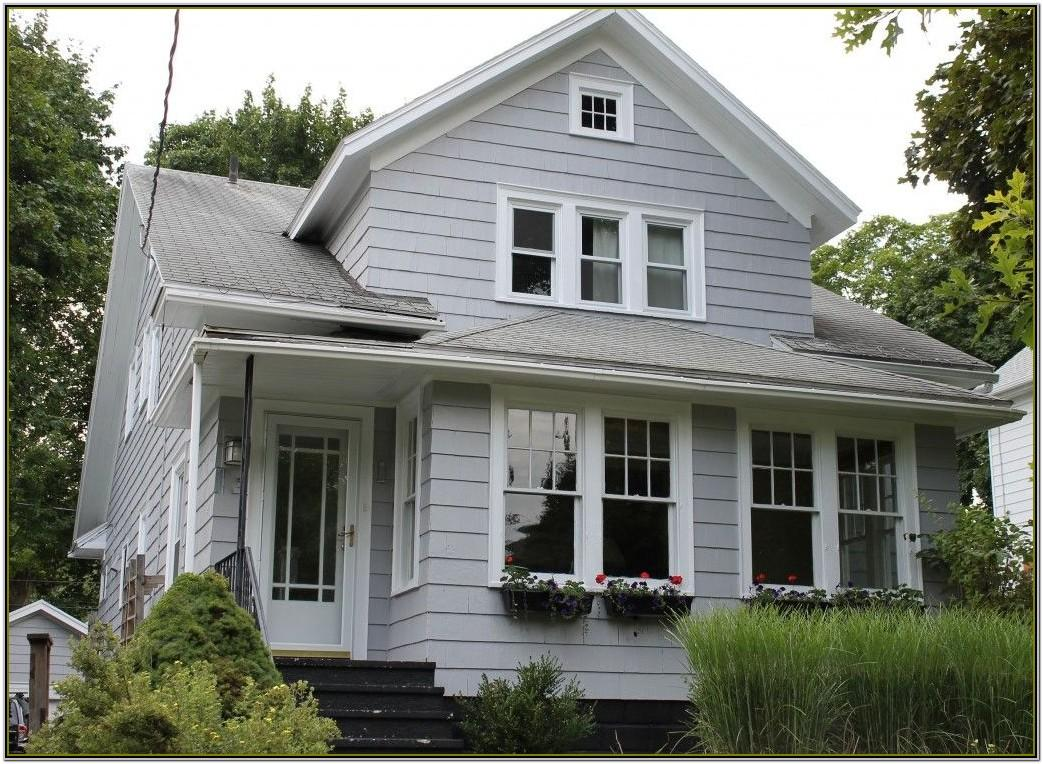 Grey Exterior Home Color Schemes