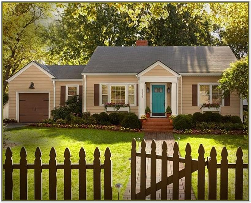 Home Depot Exterior Paint Color Combinations
