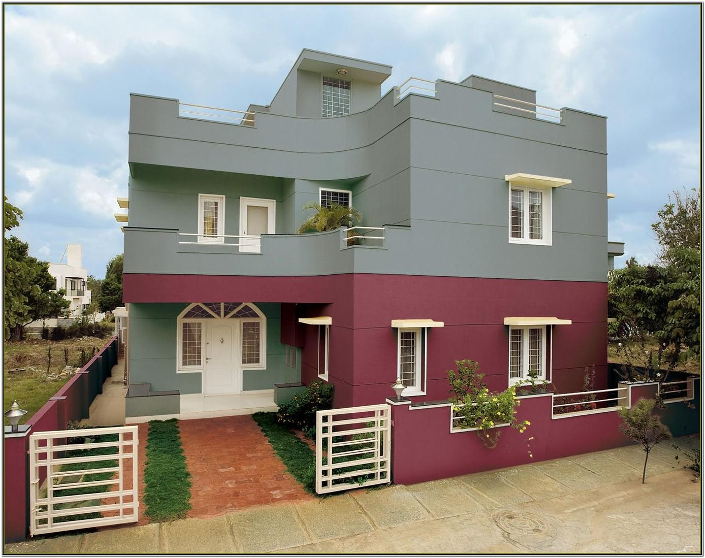 home exterior colour combination asian paints
