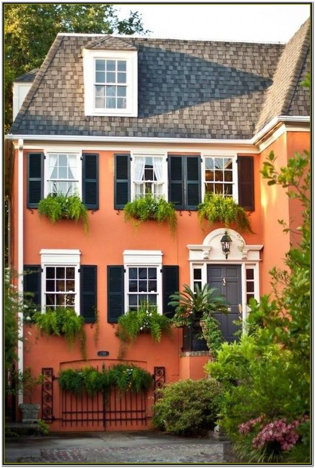 House Exterior Colour Combination Images