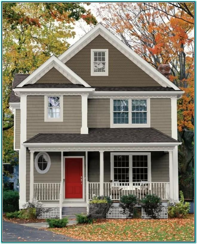House Exterior Colour Scheme