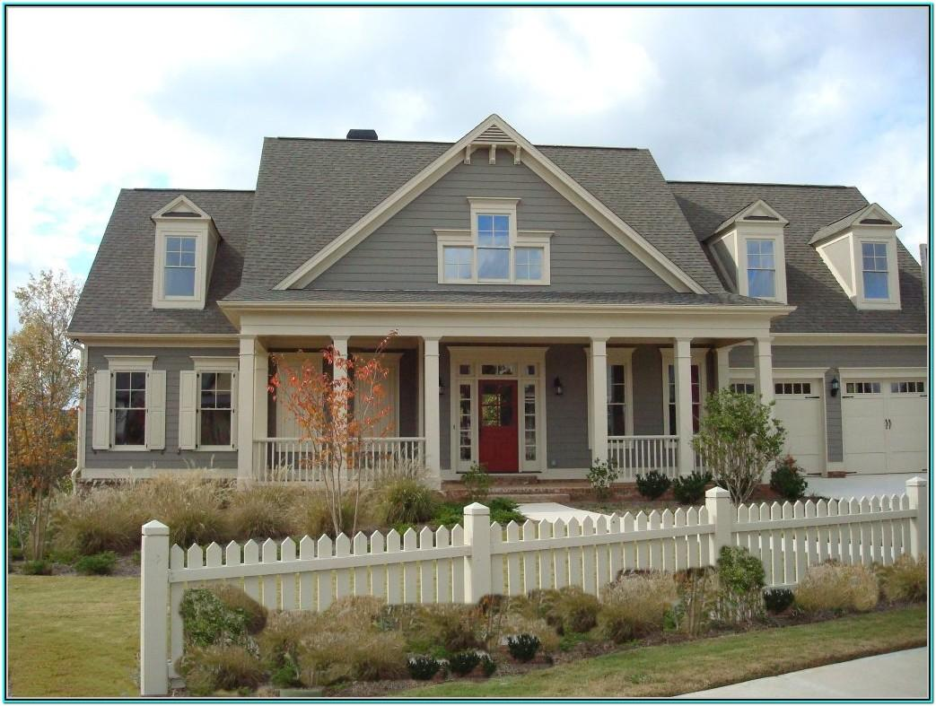 House Exterior Paint Color Combinations