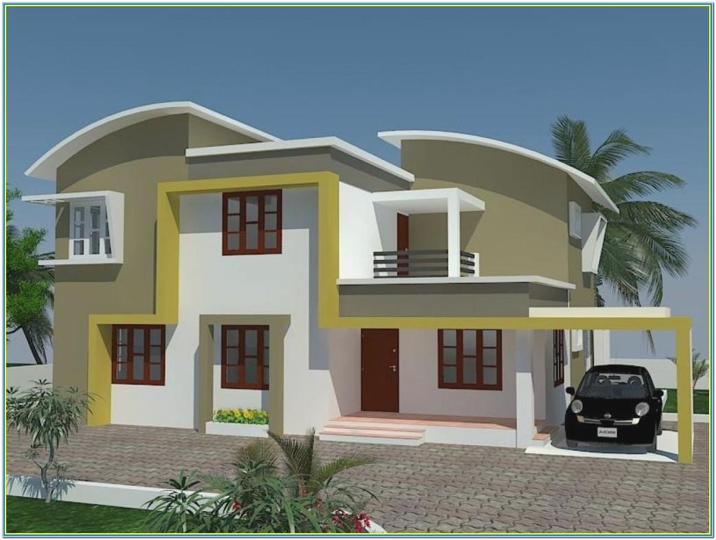 Indian House Exterior Painting Colours