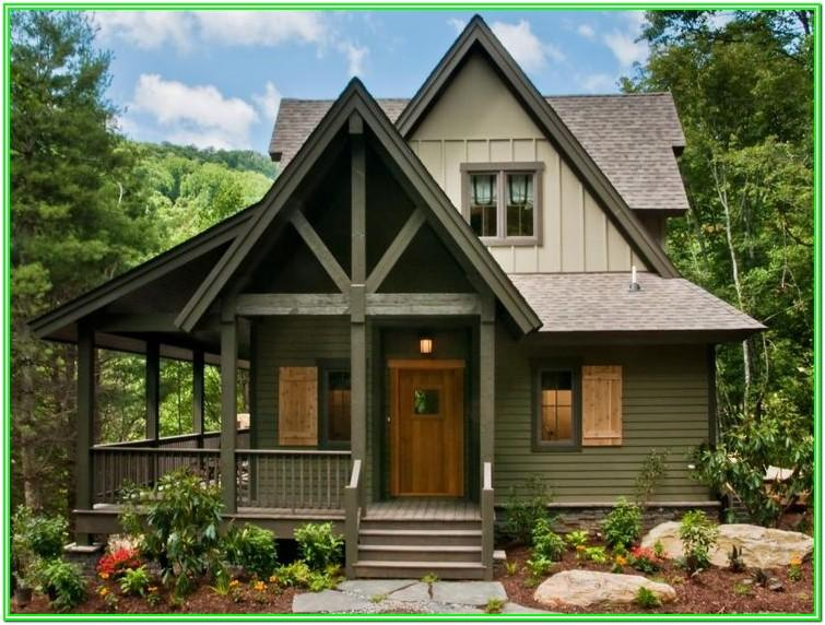Lake House Exterior Paint Color Ideas