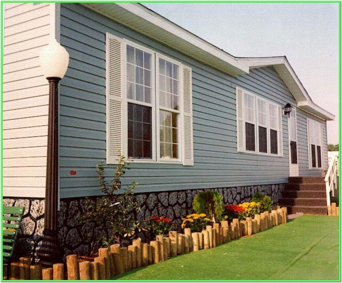 Mobile Home 'exterior Paint' Color Ideas