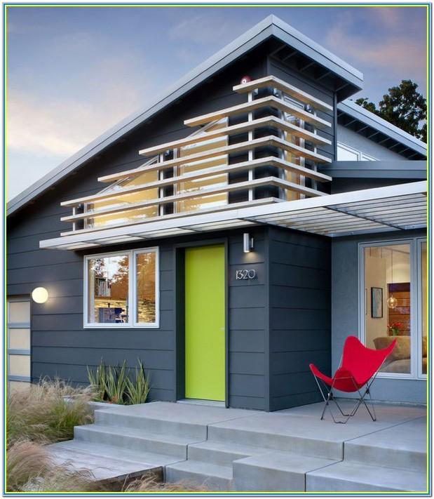 Modern House Exterior Paint Schemes