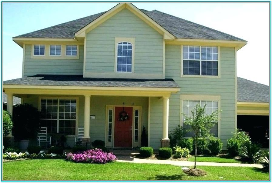Most Popular Green Exterior House Colors
