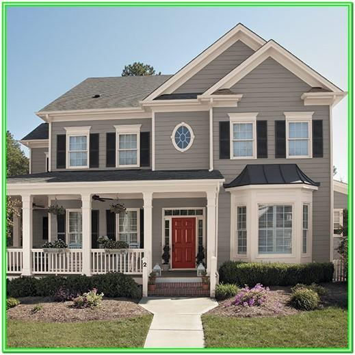 New Trends In Exterior House Colors