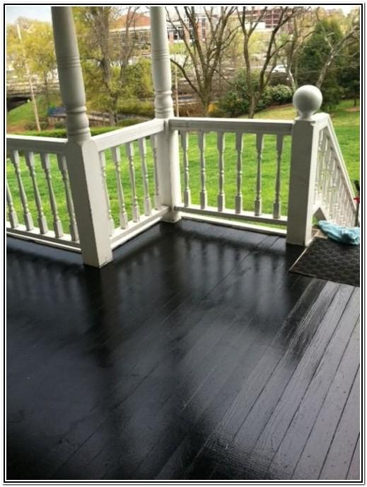 Patio Floor Paint Color Ideas