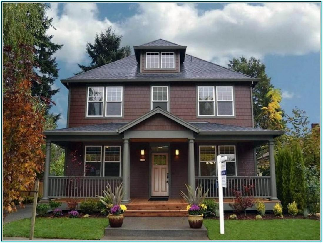 Popular Green Exterior House Paint Colors