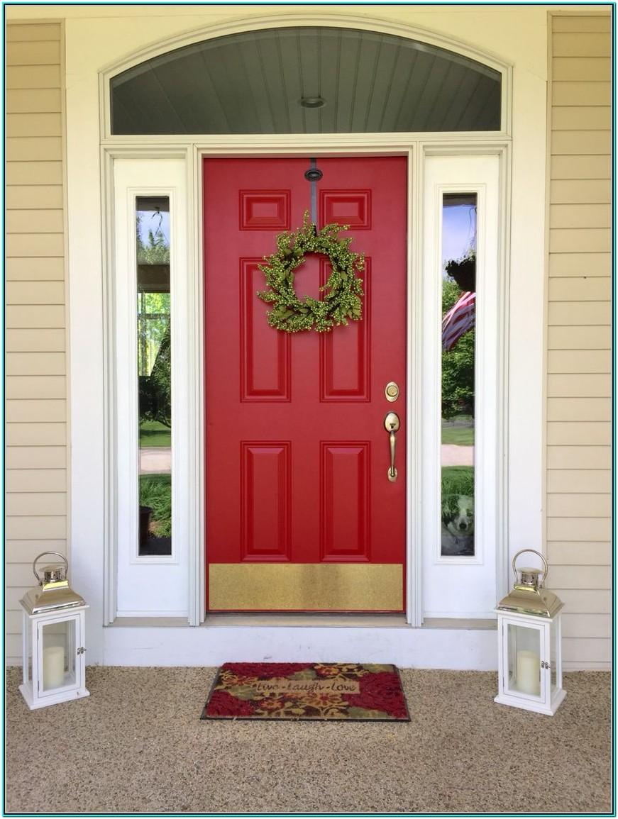 Red Front Door Colors Benjamin Moore