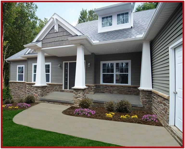 Residential Exterior Paint Color Design