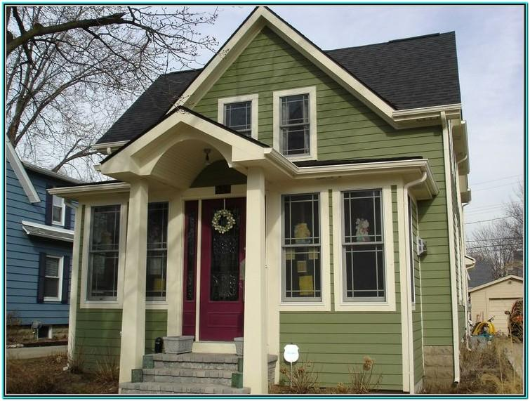 Sage Green Exterior House Color Ideas