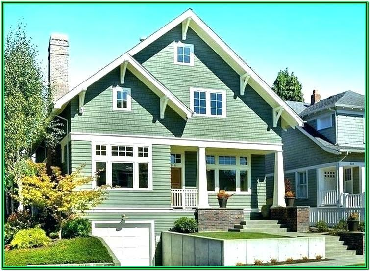 Top Exterior House Colors 2018