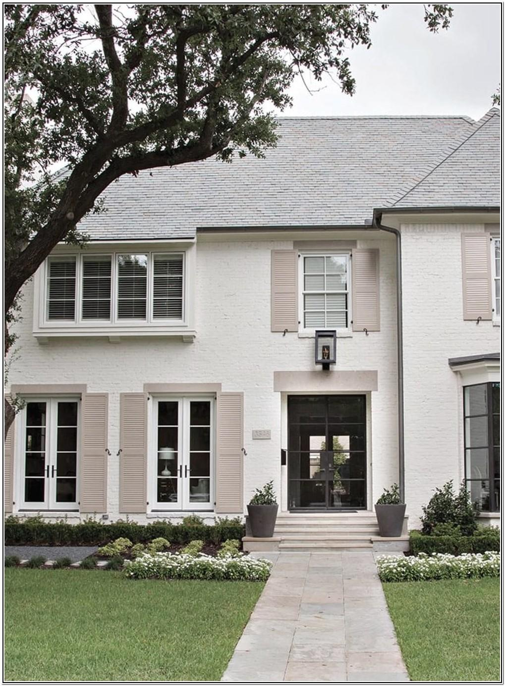 Top Exterior Paint Color Combinations