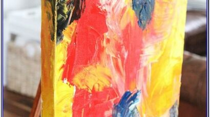 90 Easy Abstract Painting Ideas