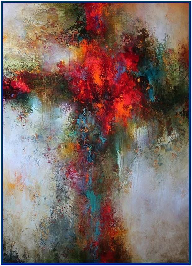 Abstract Painting Ideas Easy