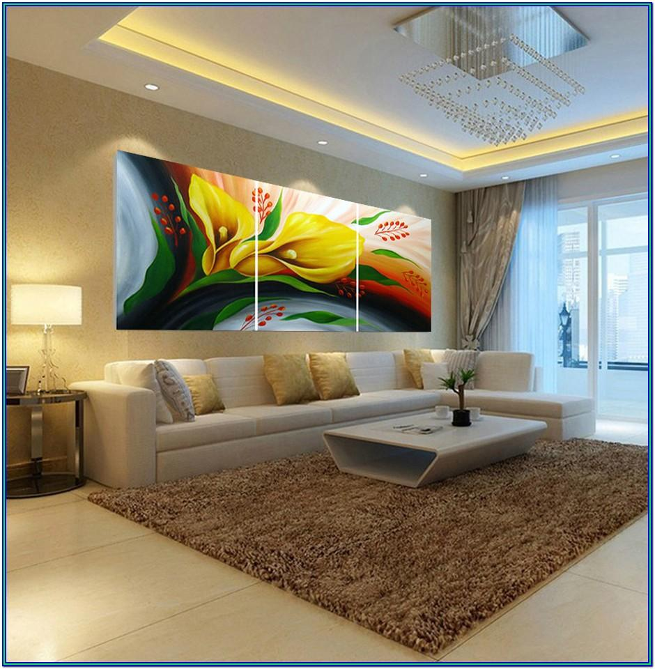 Abstract Painting Ideas For Living Room