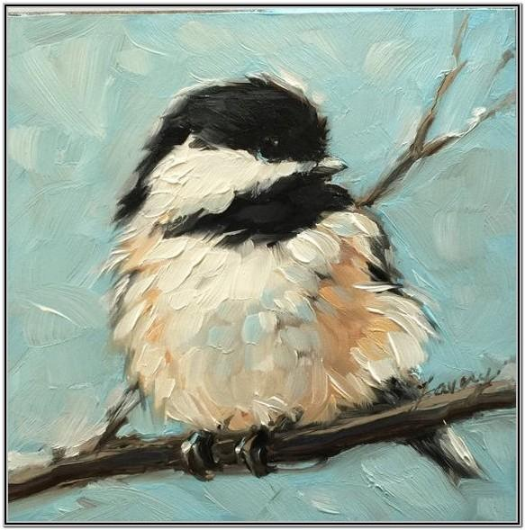 Acrylic Painting Ideas For Beginners Birds
