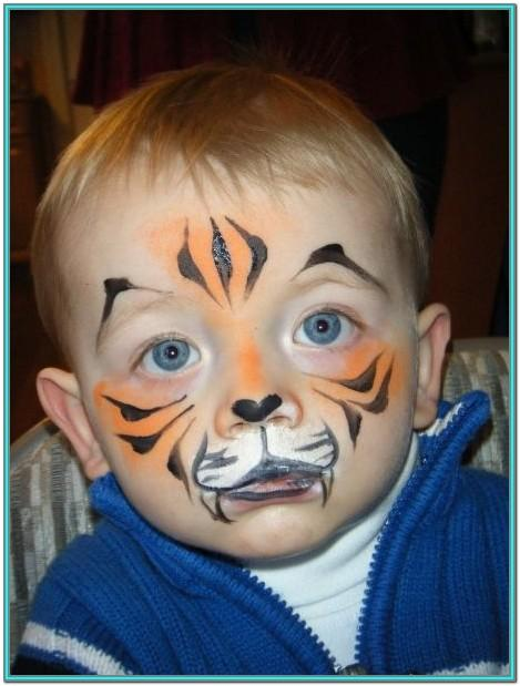 animal face painting ideas easy