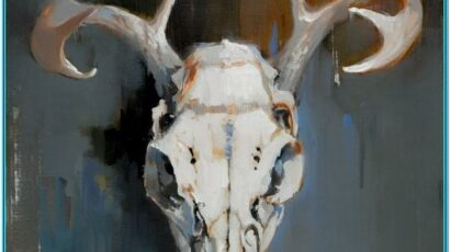 Animal Skull Painting Ideas