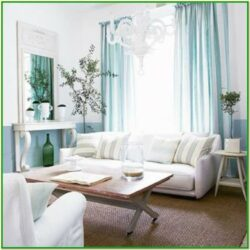 Aqua And Gray Living Room Decor
