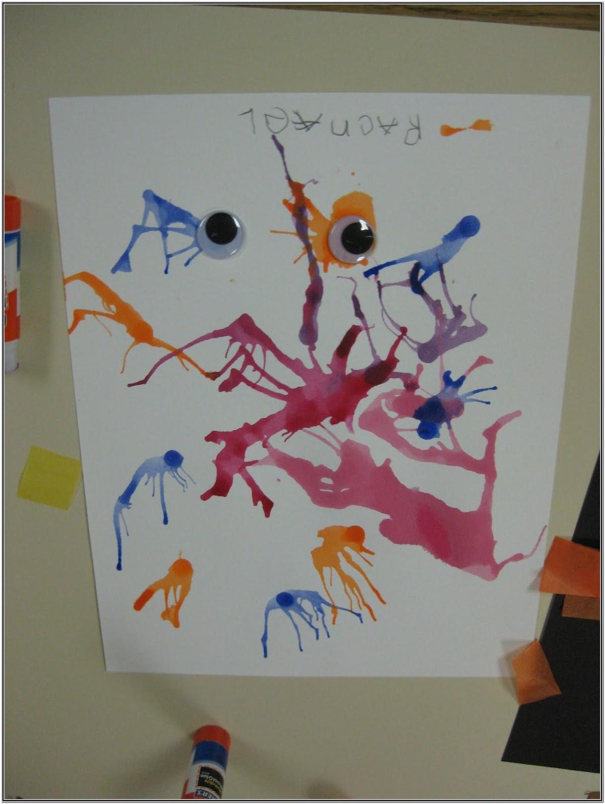 art painting ideas for preschoolers
