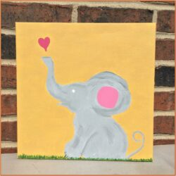 Baby Canvas Painting Ideas