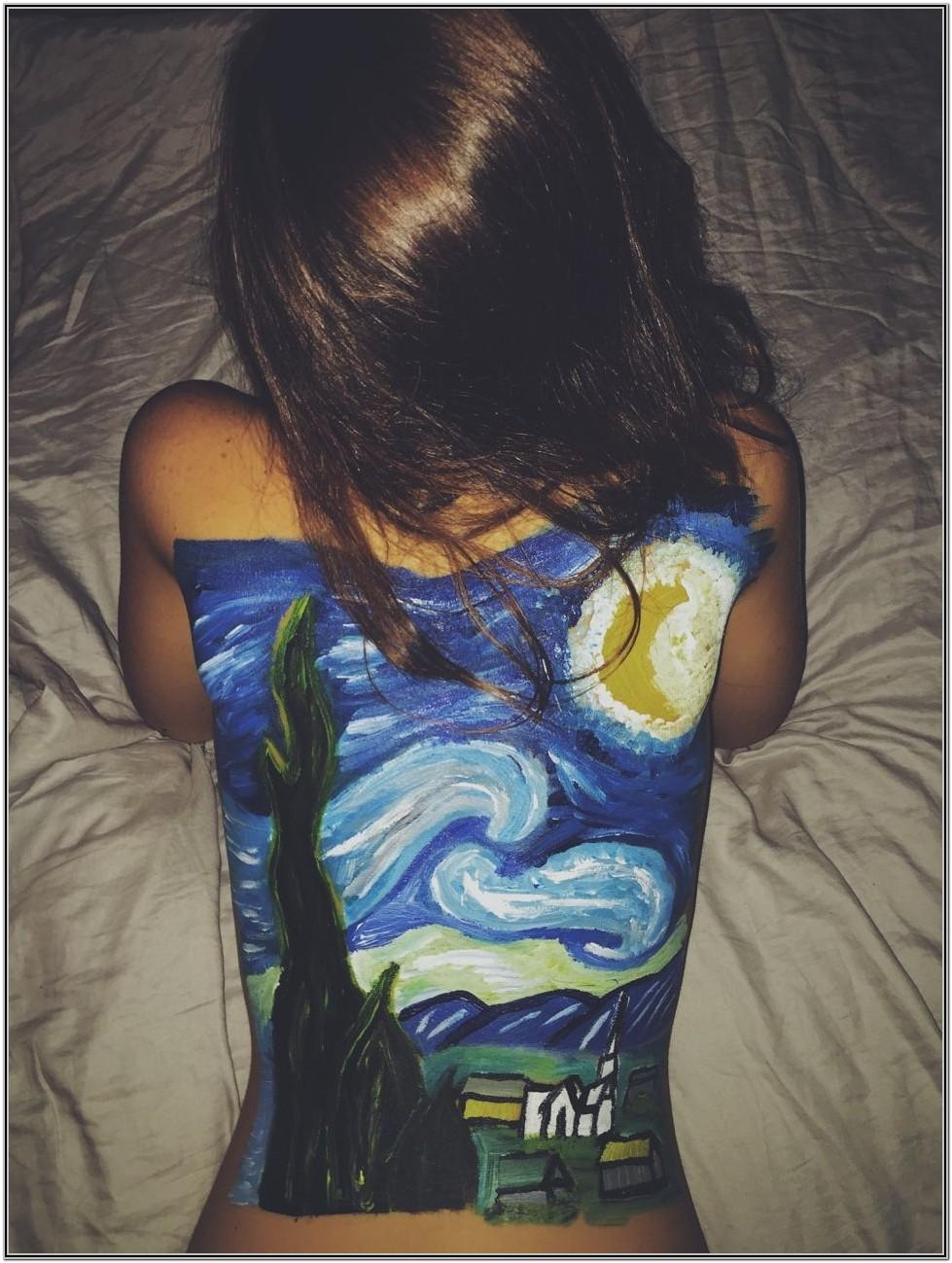 Back Painting Ideas Tumblr