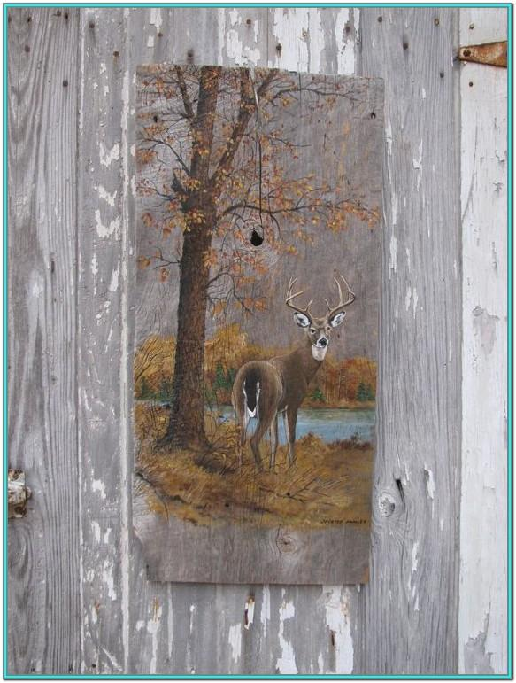 Barn Wood Painting Ideas