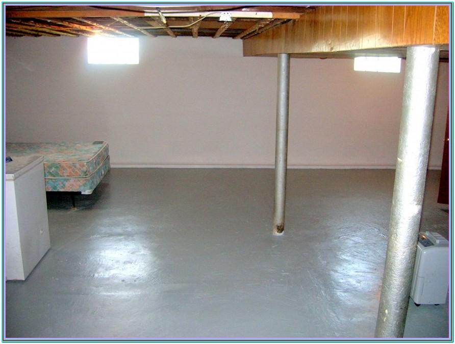 Basement Cement Floor Paint Ideas
