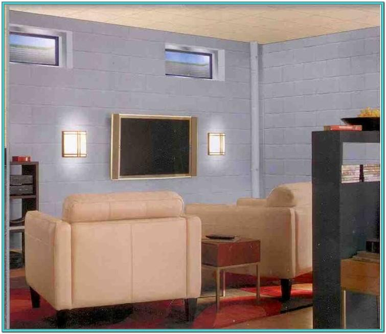 Basement Cinder Block Paint Ideas