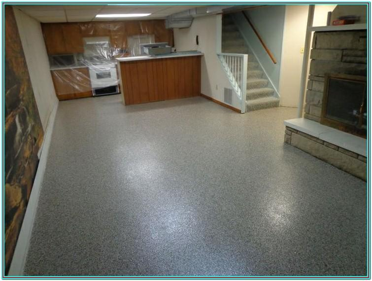 basement floor epoxy paint ideas
