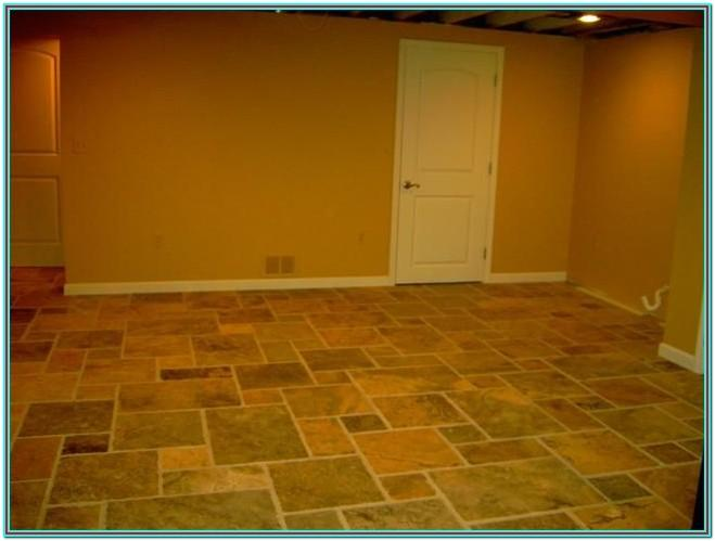 Basement Floor Paint Design Ideas