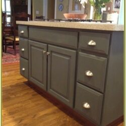Bathroom Cabinet Chalk Paint Ideas