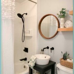 Bathroom Paint Pattern Ideas