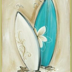 Beach Canvas Painting Ideas