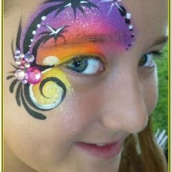 Beach Face Painting Ideas
