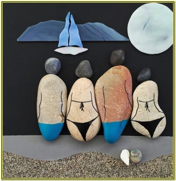 Beach Rock Painting Ideas