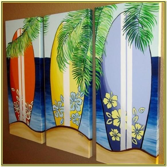 Beach Theme Painting Ideas