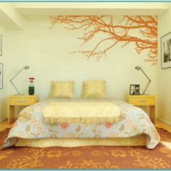 Bedroom Paint Pattern Ideas