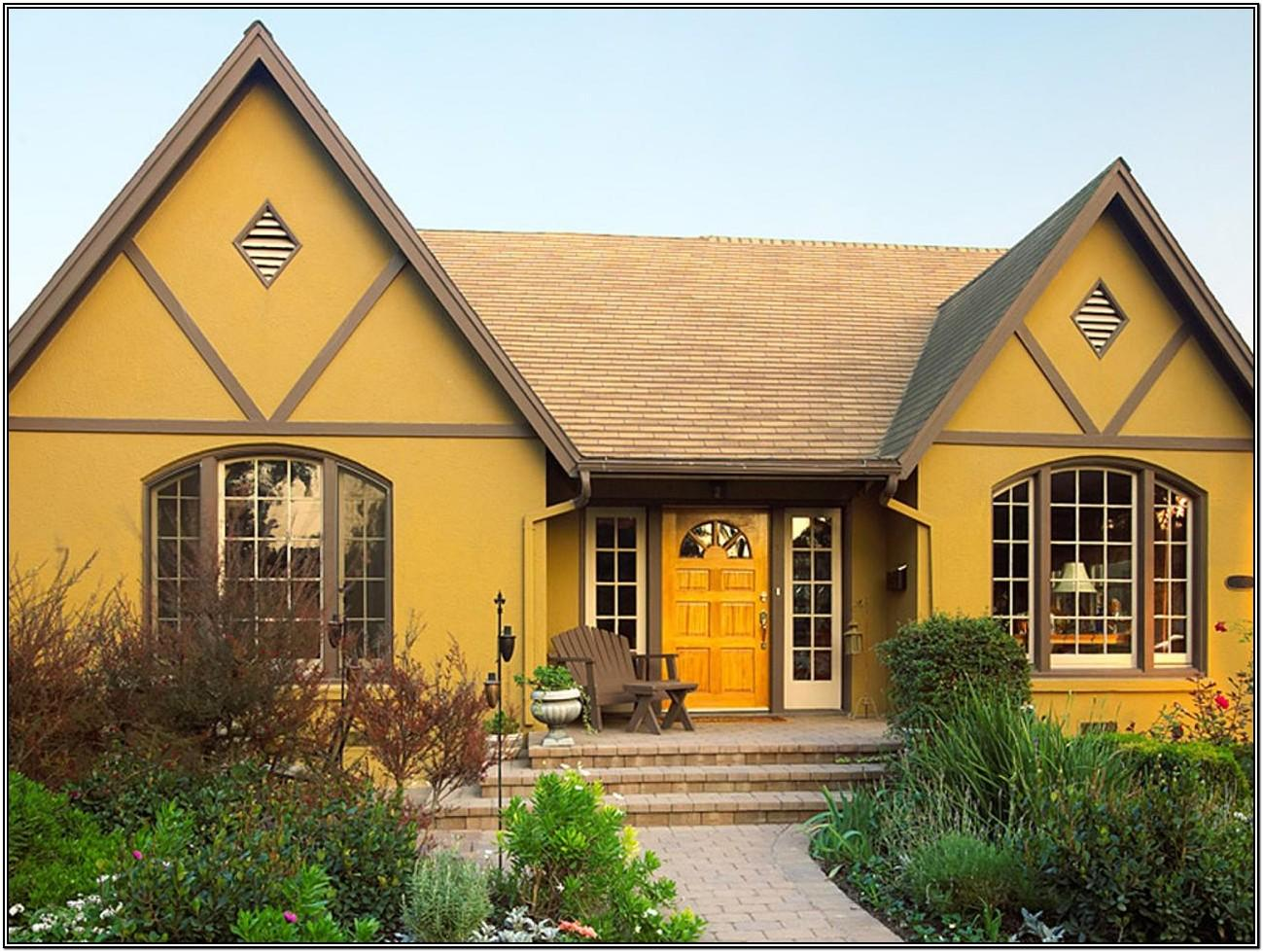 Behr Yellow Exterior Paint Colors