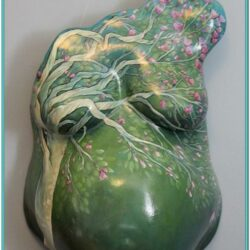 Belly Cast Painting Ideas