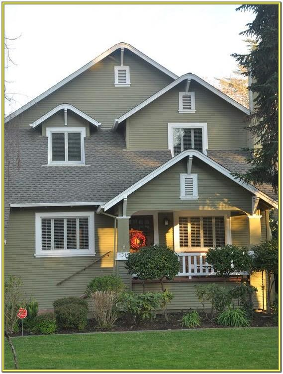 Best Exterior Green Paint Colors